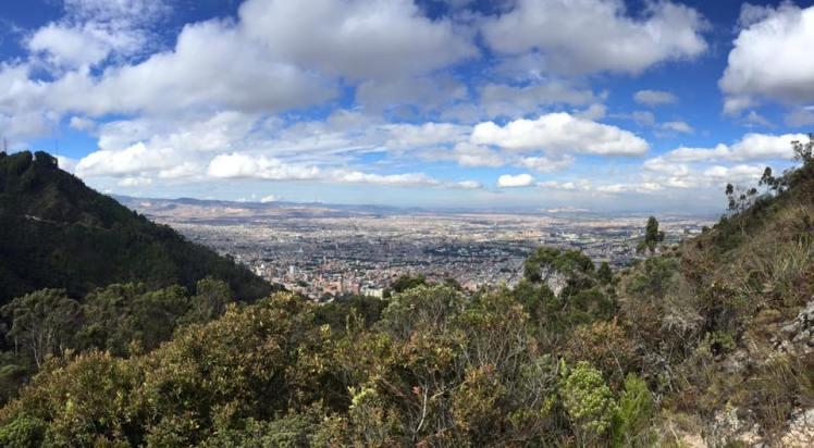 view from quebrada